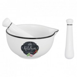 Porcelánový hmoždíř Kitchen Basic 12cm R1607
